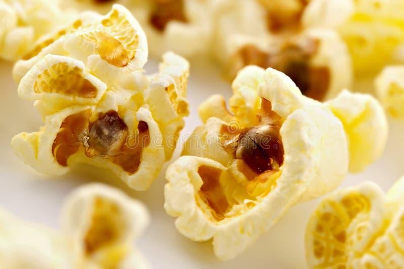 Salty popcorn royalty free stock photo