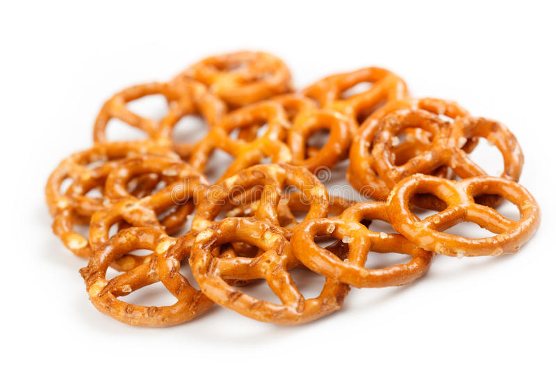 Salty snacks stock images