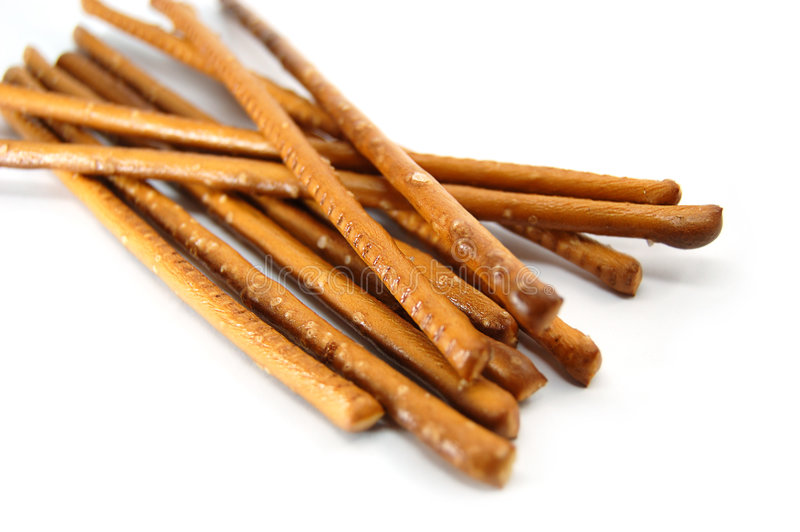Salty Sticks Royalty Free Stock Images