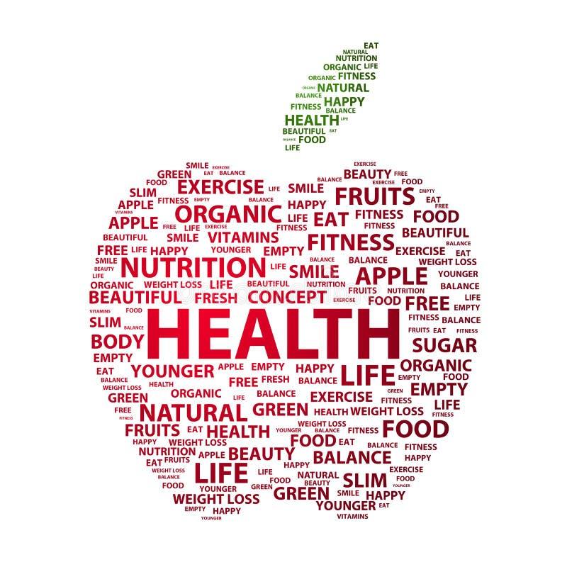 Salud ilustración del vector