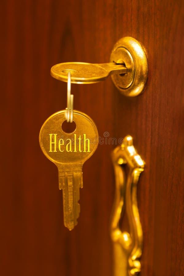 Salud del clave de oro imagen de archivo libre de regalías