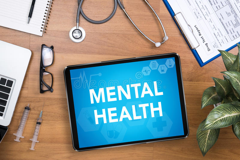 Salud mental imagen de archivo
