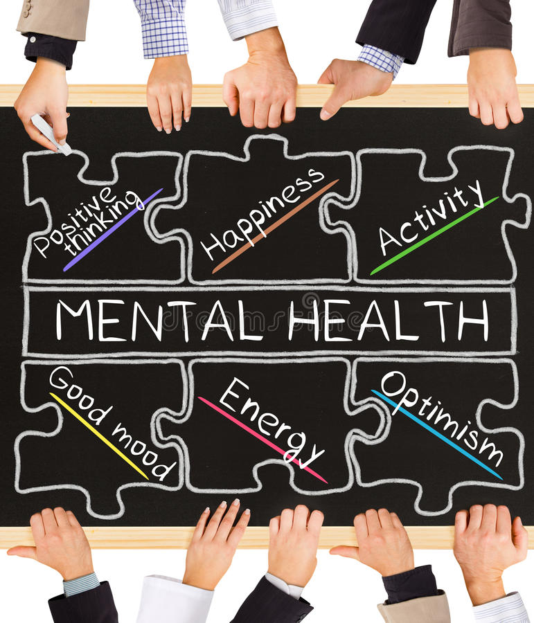 Salud mental imágenes de archivo libres de regalías