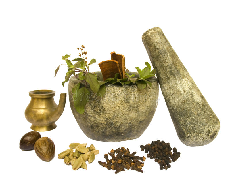 Salud natural de Ayurveda fotos de archivo libres de regalías