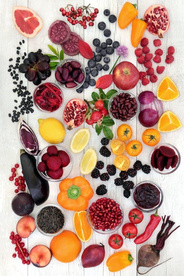 Salud que come la comida estupenda fotografía de archivo libre de regalías