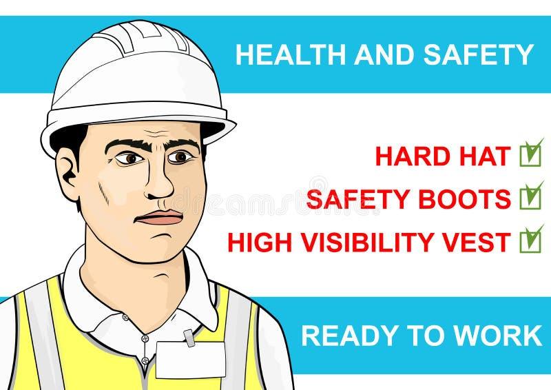Salud y seguridad libre illustration