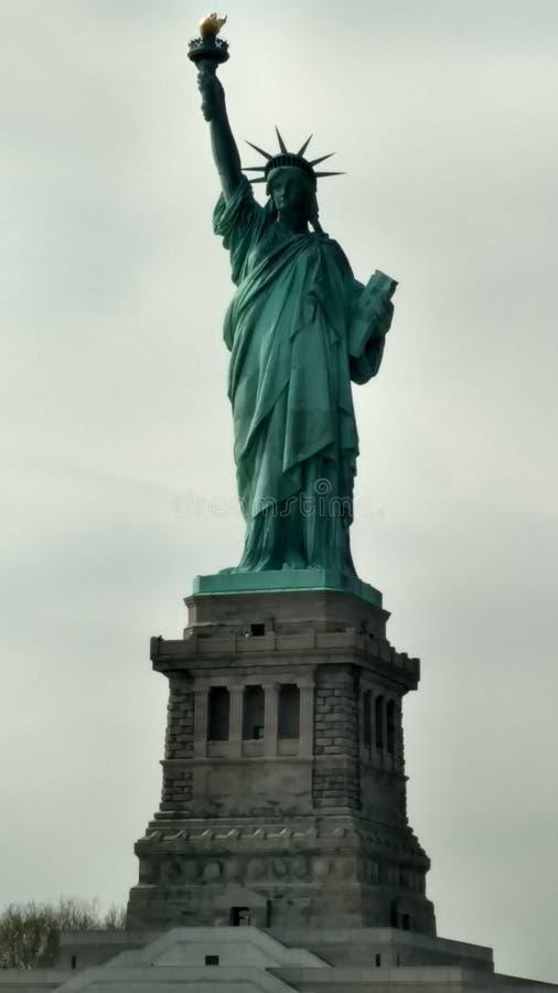 Saludo de señora Liberty fotografía de archivo libre de regalías