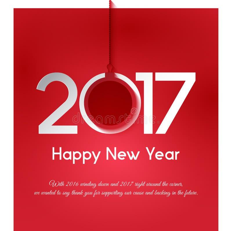 Saludo del Año Nuevo imagen de archivo libre de regalías