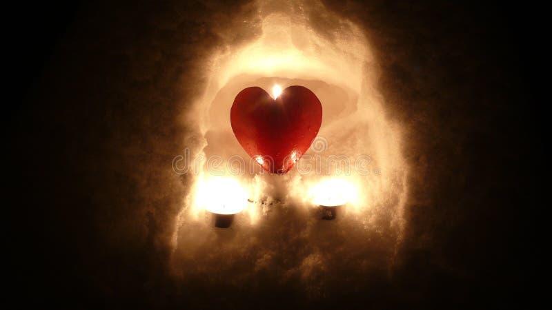 Saludo para el día de tarjeta del día de San Valentín fotos de archivo libres de regalías
