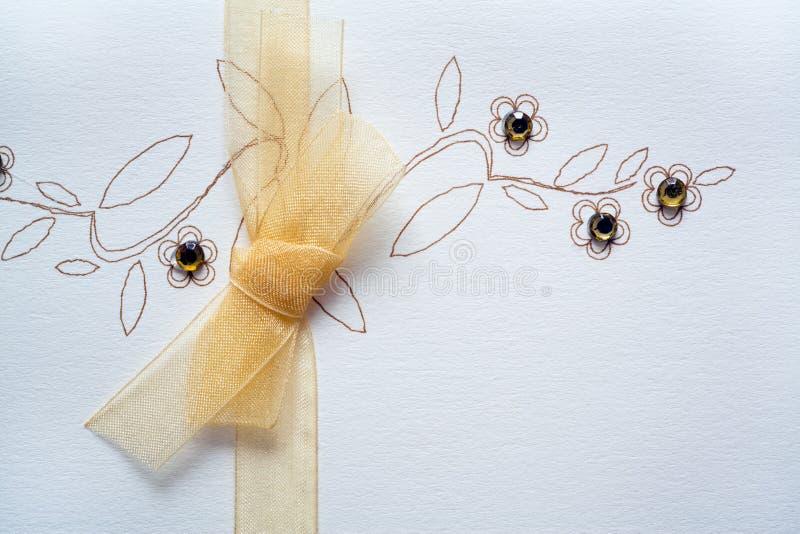 Saludos de la boda stock de ilustración
