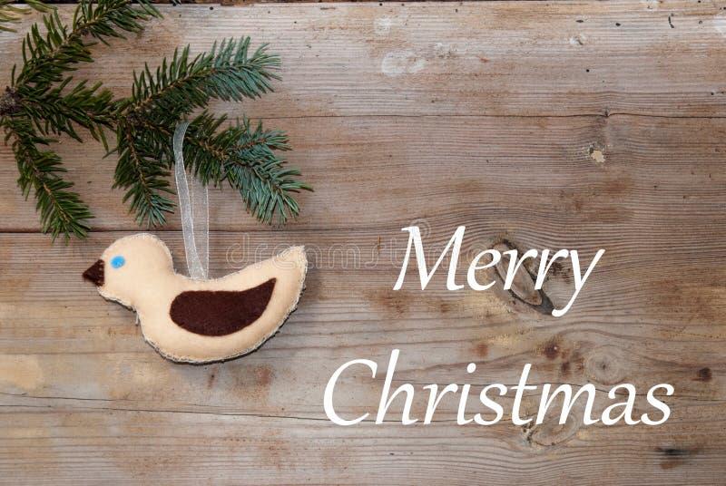 Saludos de la Feliz Navidad fotos de archivo