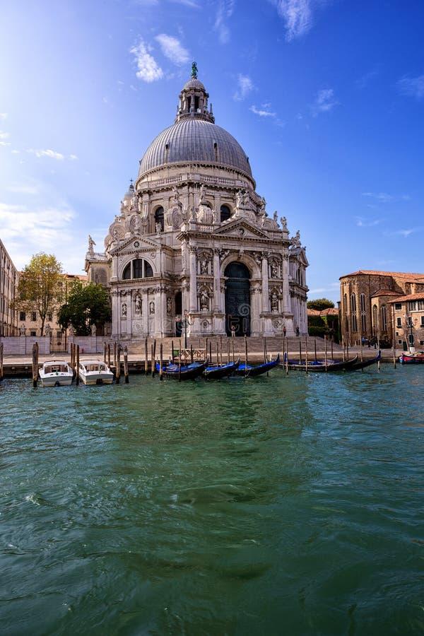 Salut de della Santa Maria Venise l'Italie images libres de droits