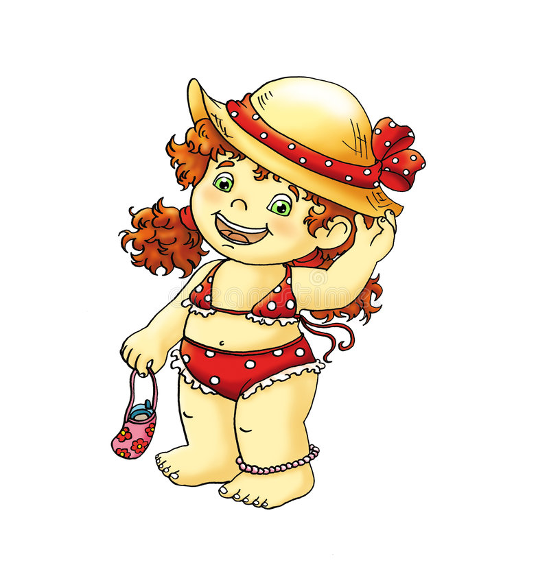 Salut Emily illustration de vecteur