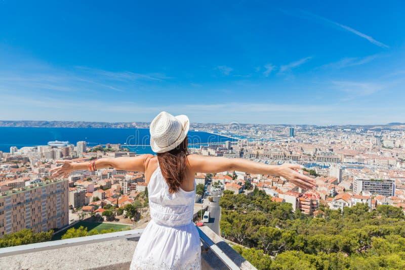 Salut Marseille ! photographie stock libre de droits