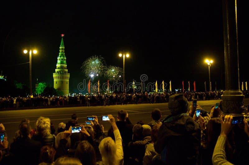 Salut na cześć dzień Rosja obrazy stock
