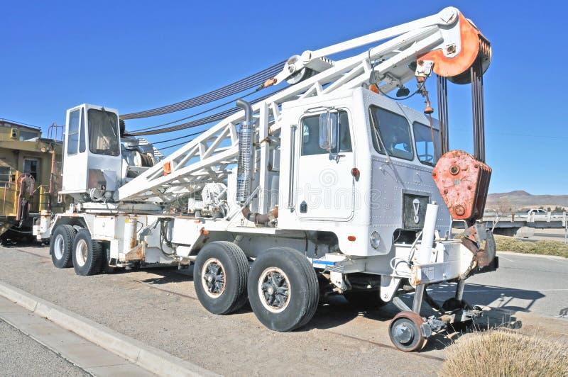 Salut-rail Crane Truck photographie stock libre de droits