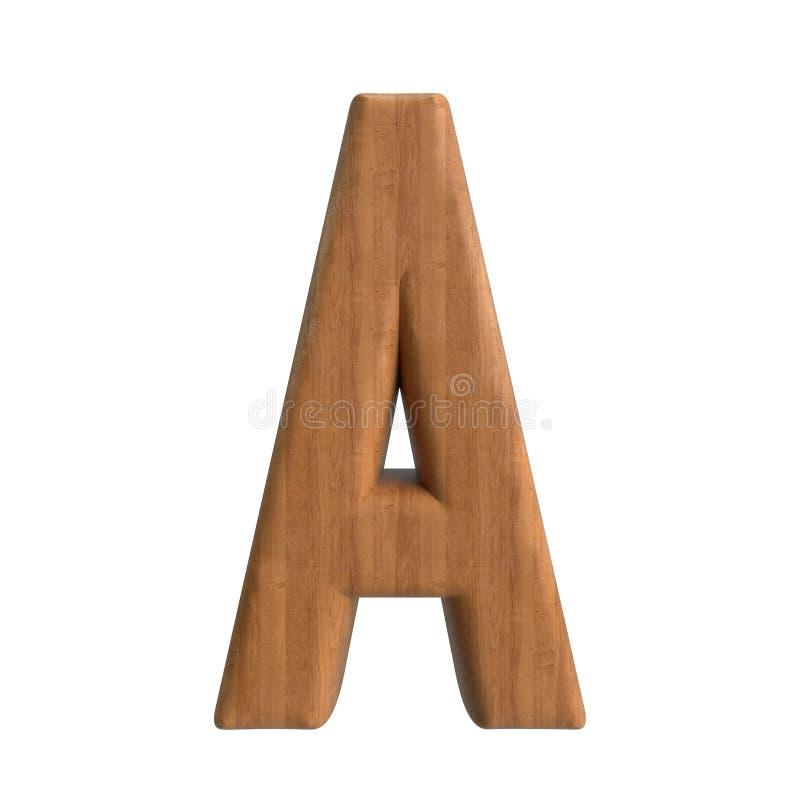 Salut s?rie d'A-Z Wood Texture Text de r?solution pour la sorte par jusqu'? vous illustration de vecteur