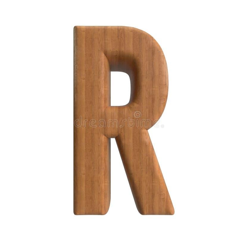 Salut s?rie d'A-Z Wood Texture Text de r?solution pour la sorte par jusqu'? vous illustration libre de droits