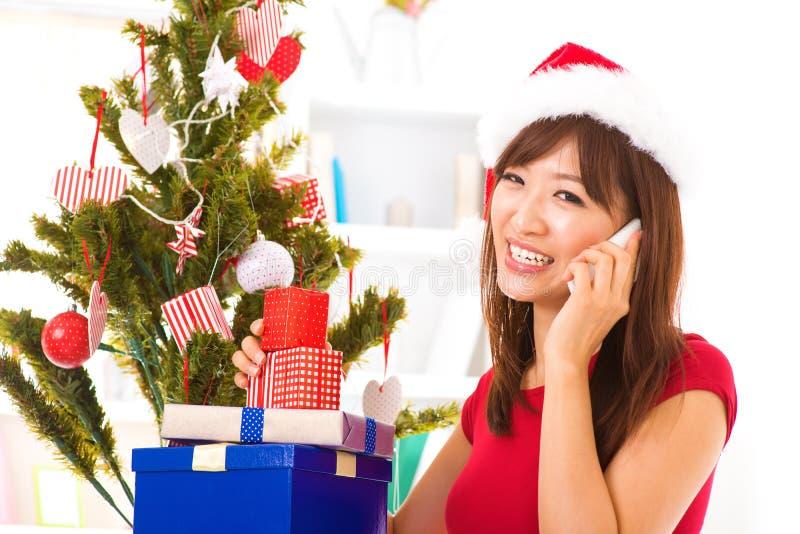 Salutation de Noël photographie stock libre de droits