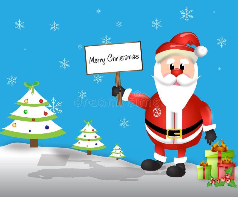 Salutation de Noël photos libres de droits