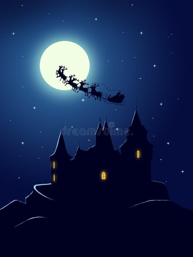 salutation de Noël de carte