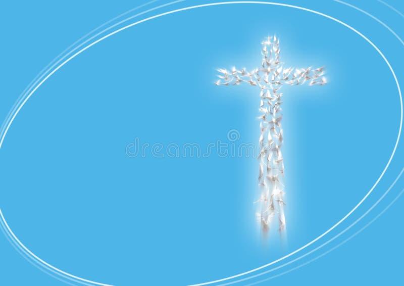 salutation de Pâques de carte heureuse illustration de vecteur