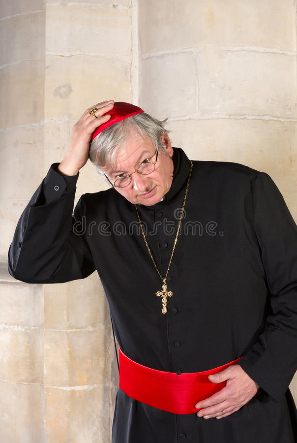Salutation du cardinal photo stock
