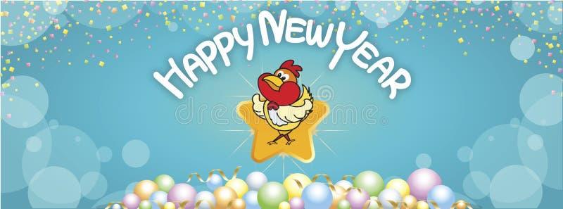 Salutations de bonne année de fond images stock