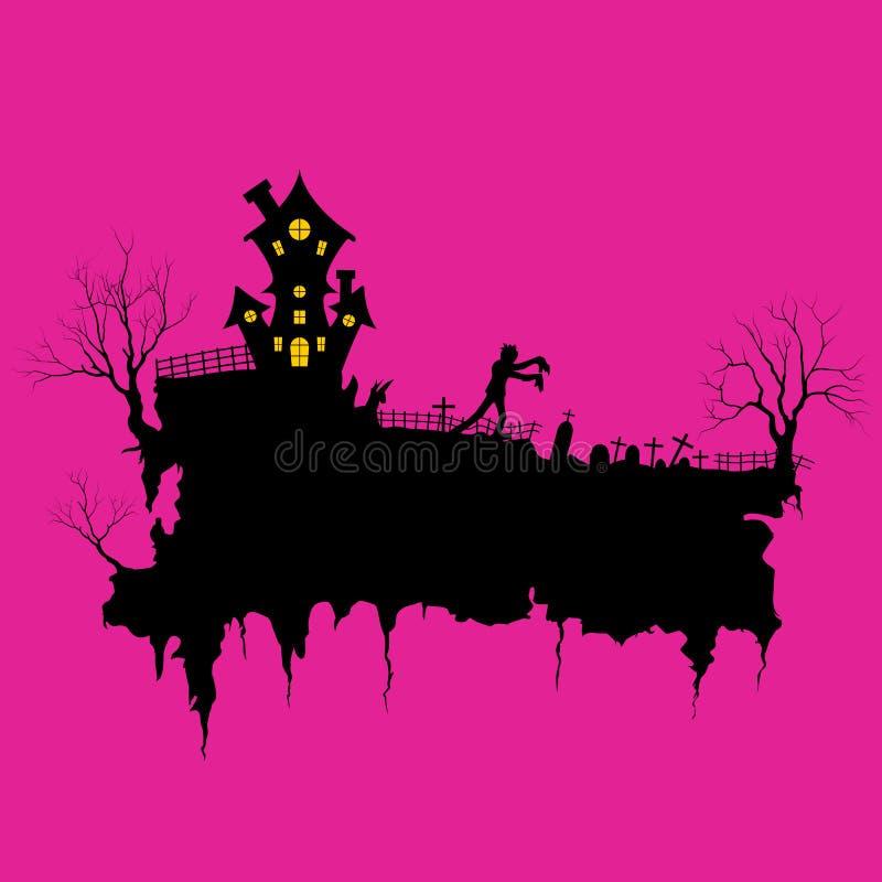 Salutations de Halloween illustration libre de droits