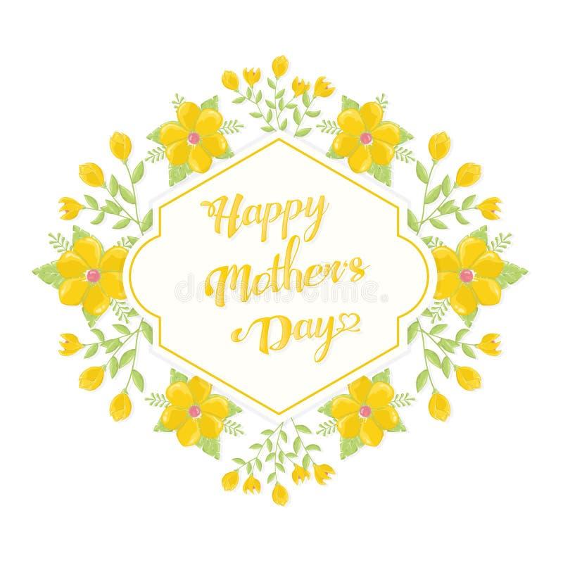 Salutations de jour de mères photos stock