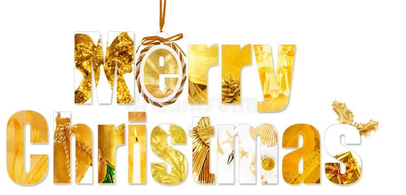 Salutations de Noël photographie stock libre de droits