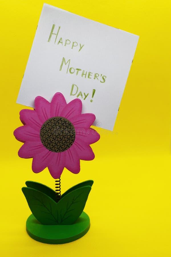 Salutations heureuses de jour de mères images stock