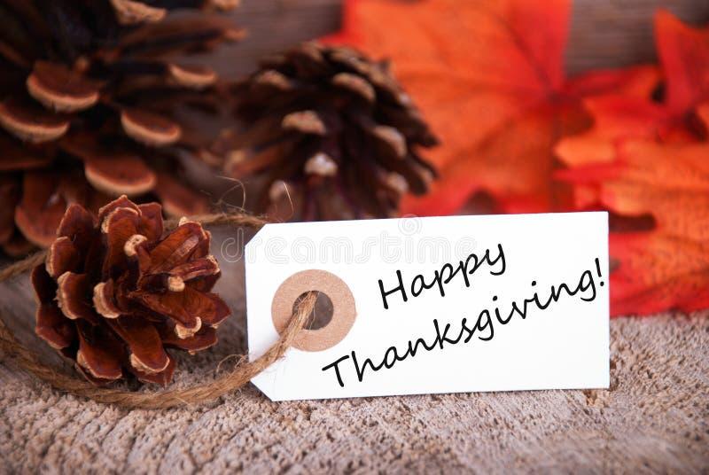 Salutations heureuses de thanksgiving