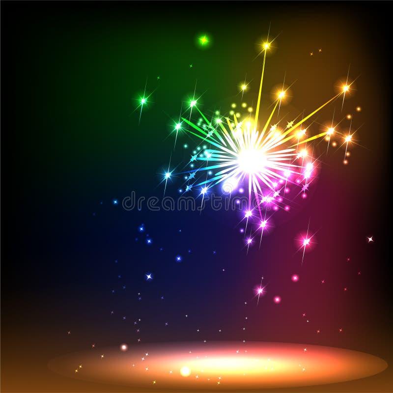 Download Salute stock vector. Image of flash, carnival, design - 27627136