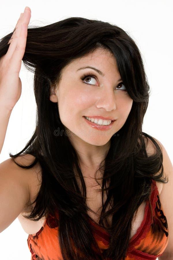Salute dei capelli immagine stock