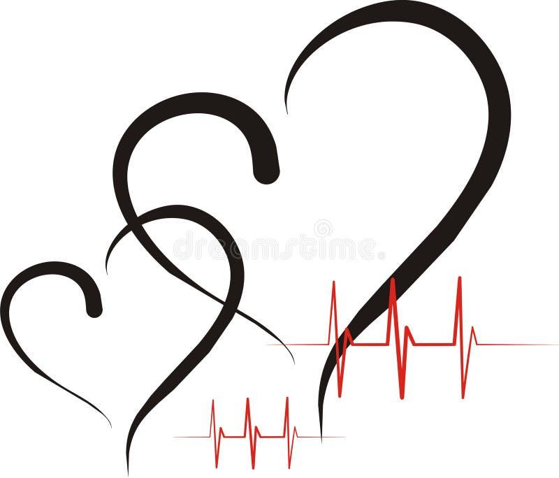 Salute del cuore illustrazione vettoriale