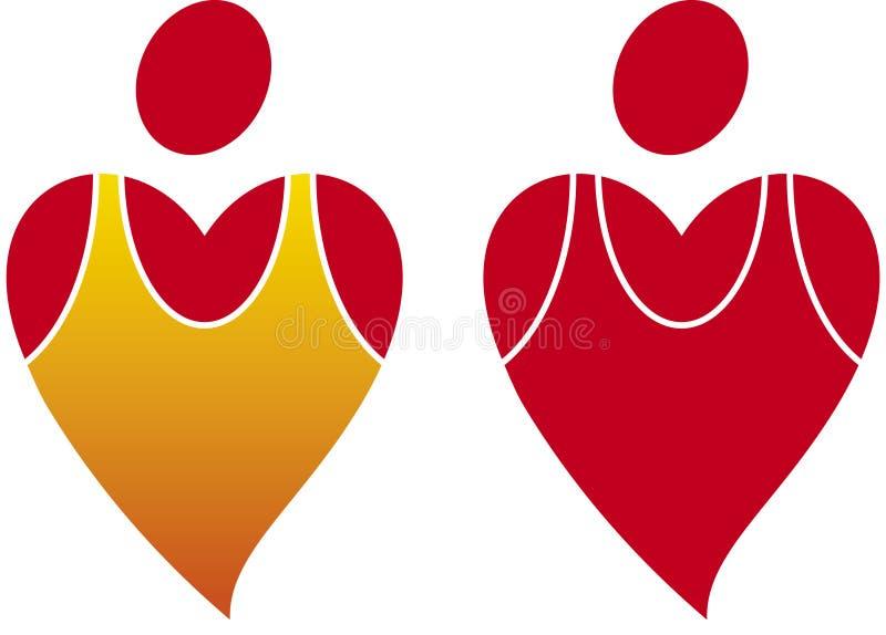 Salute del cuore (vettore) royalty illustrazione gratis