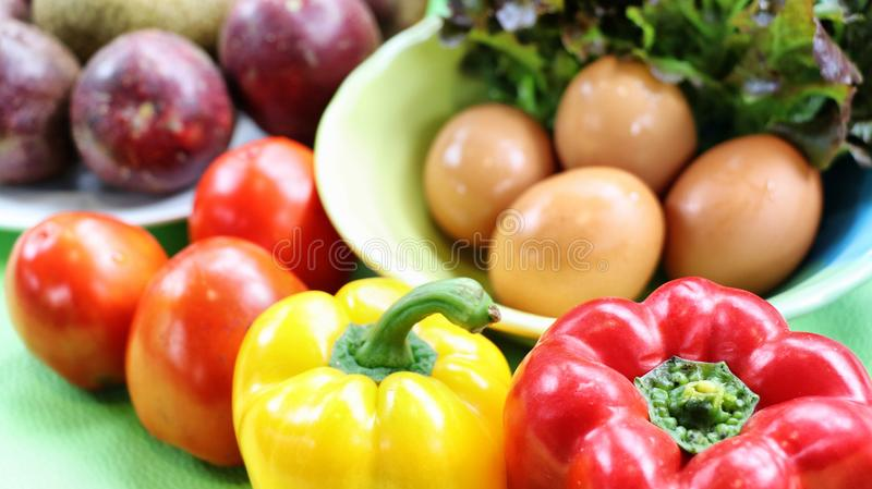 salute dell'alimento immagine stock