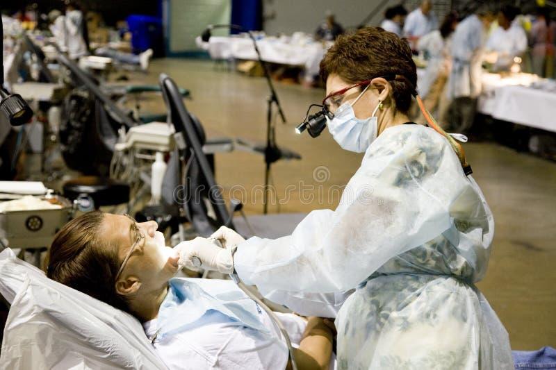 Salute libera e clinica dentale immagine stock libera da diritti