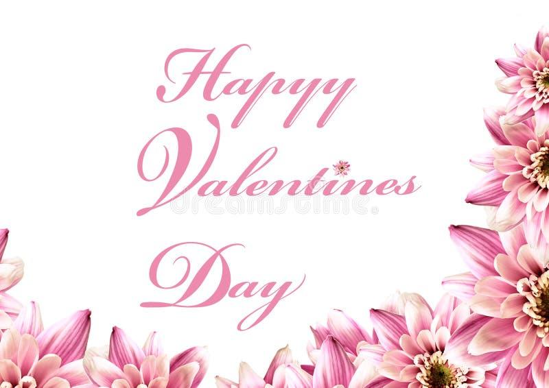 Saluti dei biglietti di S. Valentino illustrazione di stock
