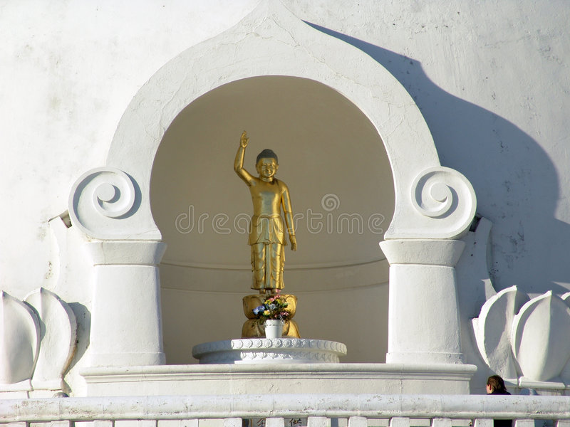 Saluti Del Buddha Fotografia Stock Libera da Diritti