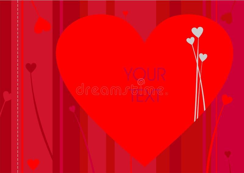Download Saluto Del Biglietto Di S. Valentino Illustrazione Vettoriale - Illustrazione di verniciato, saluto: 3886504