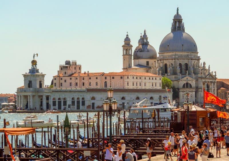 Saluto di della della Santa Maria - di Venezia fotografia stock libera da diritti