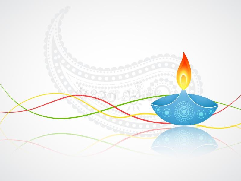 Saluto di Diwali royalty illustrazione gratis