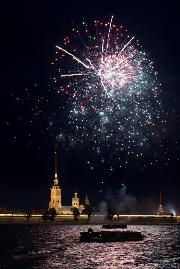 Saluto a St Petersburg fotografie stock