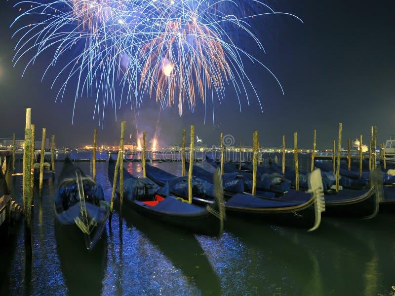 Saluto a Venezia fotografia stock