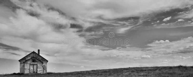 Salvação nas pradarias canadenses fotografia de stock