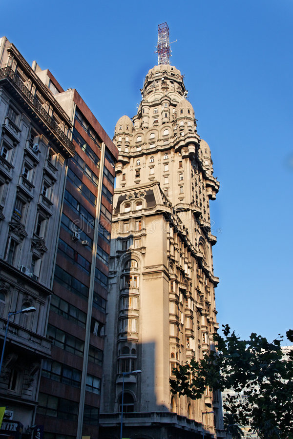 Salva de Montevideo Palacio imagens de stock