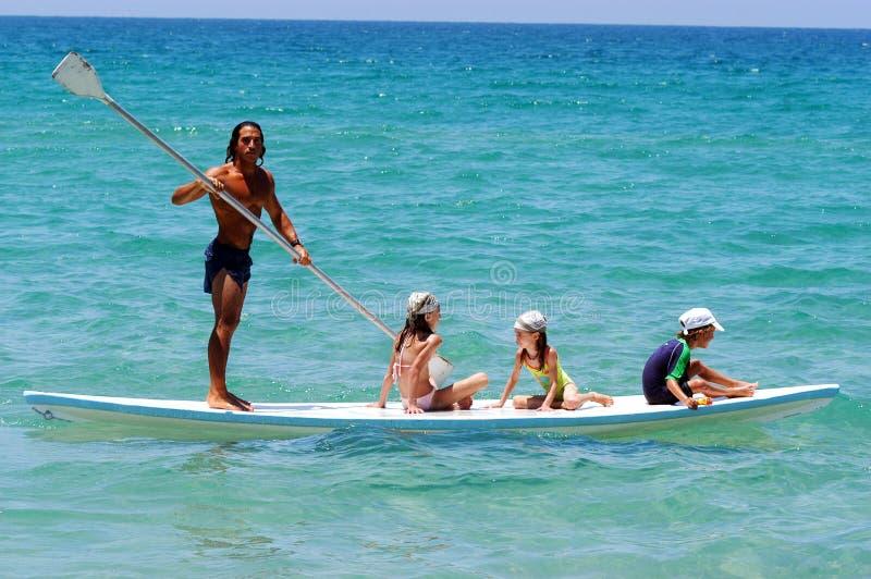 Salva-vidas israelita no litoral do mar Mediterrâneo imagens de stock royalty free
