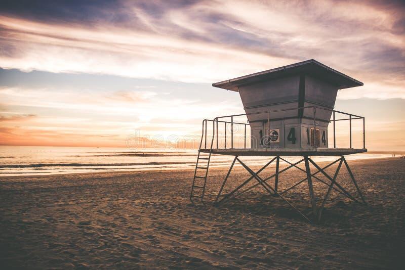 Salva-vidas Tower fotografia de stock royalty free